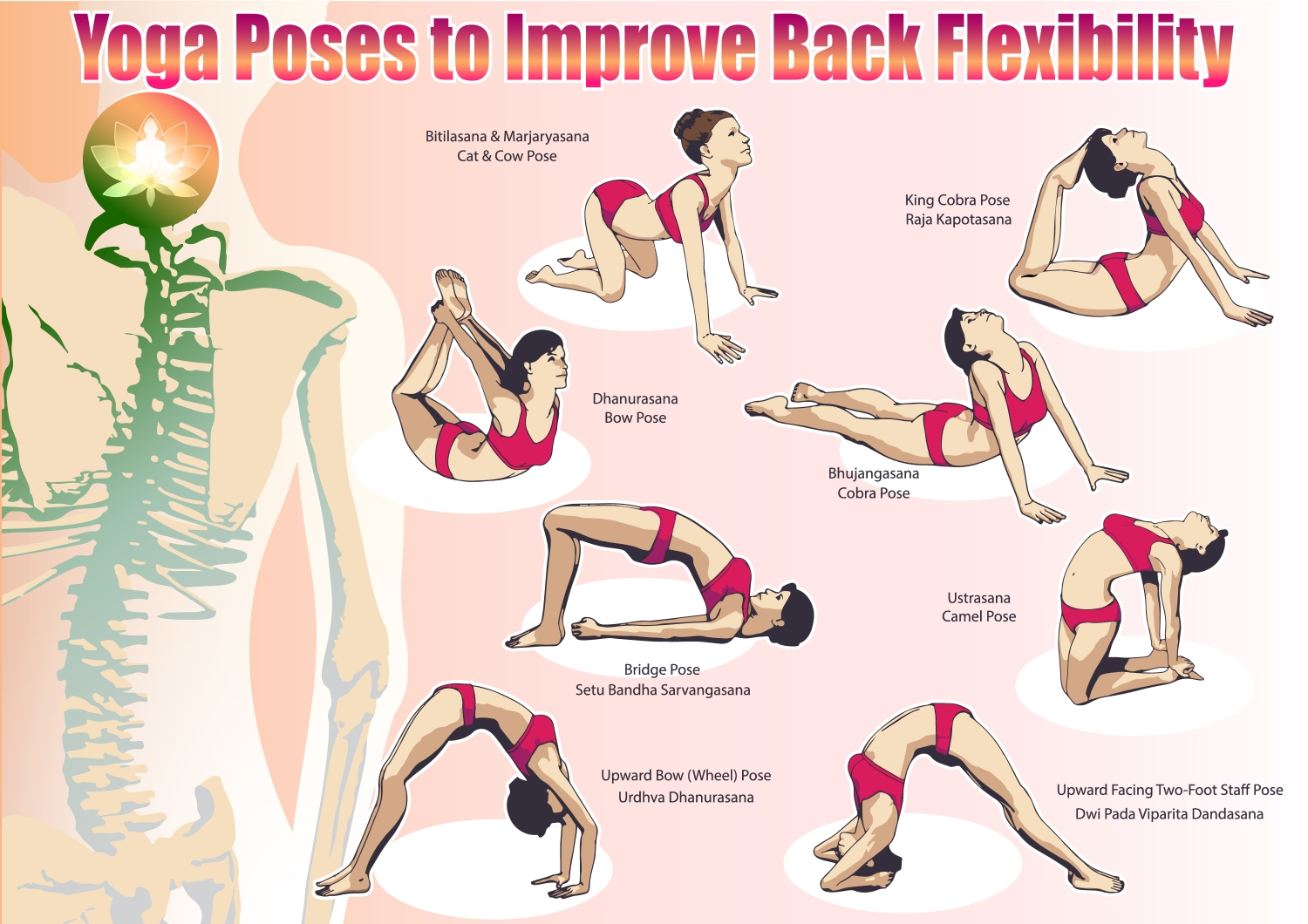 A Bit More Flexibility And I Would Try The Others As Well If You Want To One Strengthen Your Back Recommend Cobra Pose